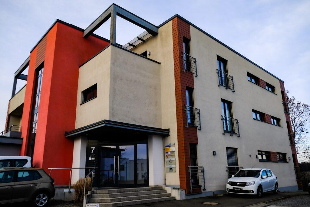 Außenansicht Therapiezentrum Petrisberg